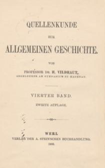 Handbuch der Quellenkunde zur deutschen Geschichte. [Bd. 2]. Vom Falle der Staufer bis zum Auftreten des Humanismus