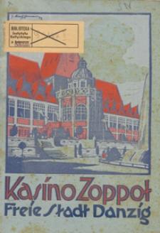 Kasino Zoppot : Freie Stadt Danzig