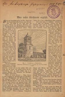 Was unser Kirchturm erzählt