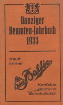 Danziger Beamten - Jahrbuch...1933