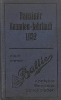 Danziger Beamten - Jahrbuch...1932