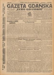 "Gazeta Gdańska ""Echo Gdańskie"", 1927.12.21 nr 291"