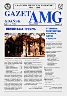GazetAMG, 1995, R. 5, nr 7