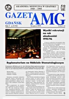 GazetAMG, 1995, R. 5, nr 8