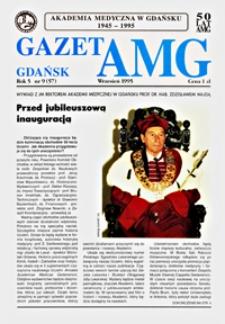 GazetAMG, 1995, R. 5, nr 9