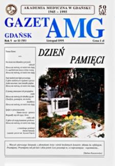 GazetAMG, 1995, R. 5, nr 11