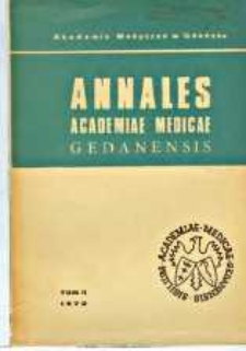 Annales Academiae Medicae Gedanensis, 1972, t. 2