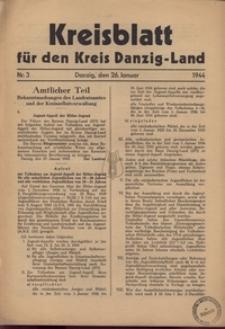 Kreisblatt fur den Kreis Danzig-Land nr.4