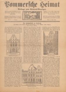 Pommersche Heimat : Beilage zum General-Anzeiger, 1917, nr 9