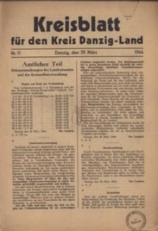 Kreisblatt fur den Kreis Danzig-Land nr.11