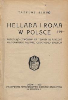 Hellada i Roma w Polsce