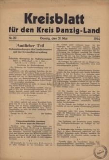Kreisblatt fur den Kreis Danzig-Land nr.20