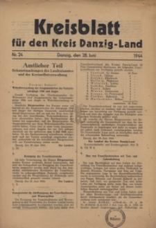 Kreisblatt fur den Kreis Danzig-Land nr.24