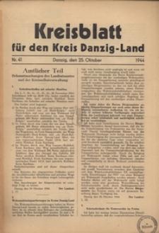 Kreisblatt fur den Kreis Danzig-Land nr.41