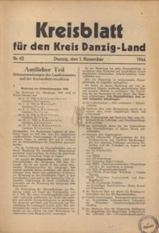 Kreisblatt fur den Kreis Danzig-Land nr.42
