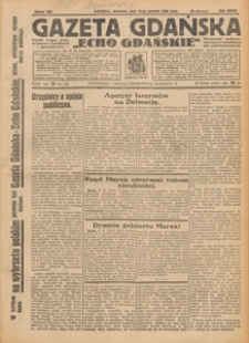 "Gazeta Gdańska ""Echo Gdańskie"", 1928.12.20 nr 291"