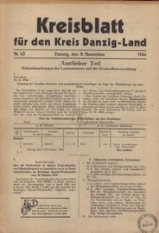 Kreisblatt fur den Kreis Danzig-Land nr.43