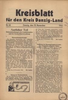 Kreisblatt fur den Kreis Danzig-Land nr.44
