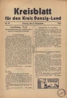 Kreisblatt fur den Kreis Danzig-Land nr.47