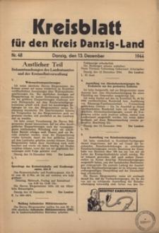 Kreisblatt fur den Kreis Danzig-Land nr.48
