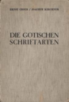 Die gotischen Schriftarten