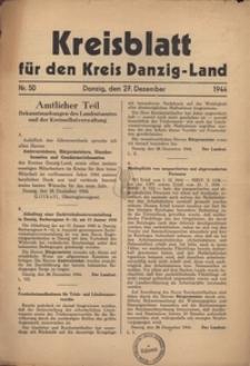 Kreisblatt fur den Kreis Danzig-Land nr.50