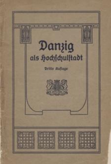 Danzig als Hochschulstadt