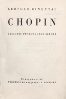 Chopin, życiorys twórcy i jego sztuka