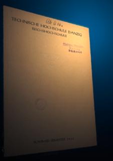 Vorlesungs-Verzeichnis : für das Sommersemester 1942