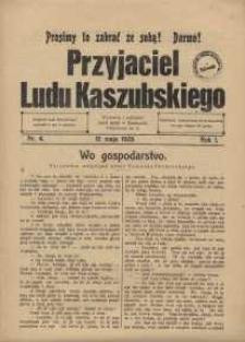 Przyjaciel Ludu Kaszubskiego, 1928, nr4