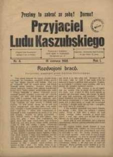 Przyjaciel Ludu Kaszubskiego, 1928, nr6