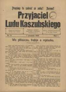 Przyjaciel Ludu Kaszubskiego, 1928, nr11