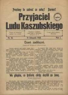 Przyjaciel Ludu Kaszubskiego, 1928, nr14