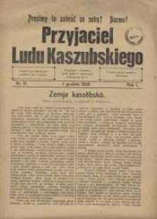 Przyjaciel Ludu Kaszubskiego, 1928, nr17