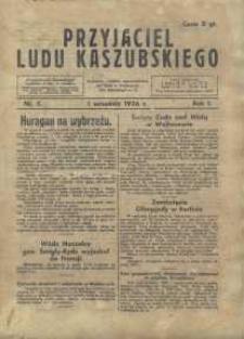 Przyjaciel Ludu Kaszubskiego, 1936, nr5