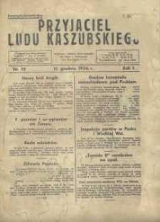 Przyjaciel Ludu Kaszubskiego, 1936, nr12