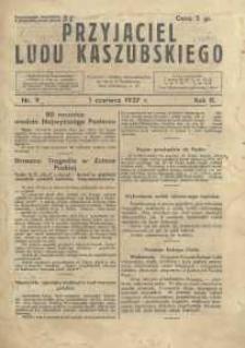 Przyjaciel Ludu Kaszubskiego, 1937, nr9