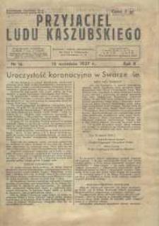 Przyjaciel Ludu Kaszubskiego, 1937, nr16