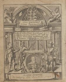 Antiqvitates Pomeraniae, Oder Sechs Bücher Vom Alten Pommerlande