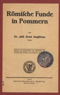 Römische Funde in Pommern