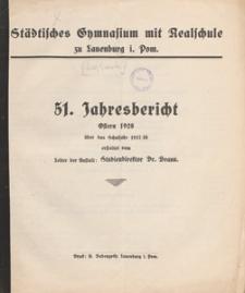 Jahresbericht : über das Schuljahr 1927/1928