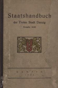 Staatshandbuch der Freien Stadt Danzig