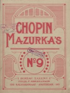 Mazurka f-moll : op.63, No 2 : [fur Pianoforte]