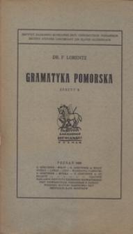 Gramatyka Pomorska, z. 2