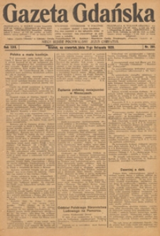 Gazeta Gdańska, 1931.11.11 nr 225