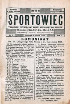 Sportowiec, 1923, nr 2
