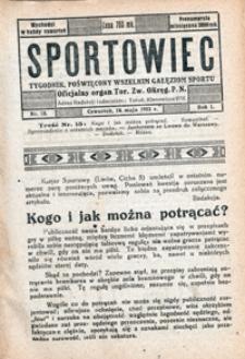 Sportowiec, 1923, nr 13