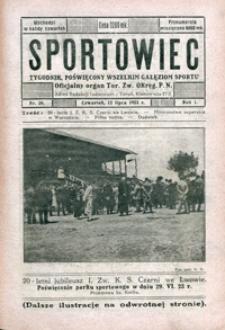 Sportowiec, 1923, nr 20