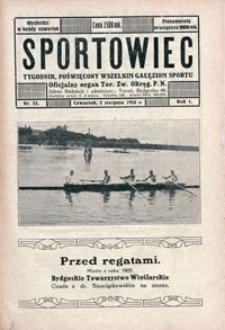 Sportowiec, 1923, nr 23