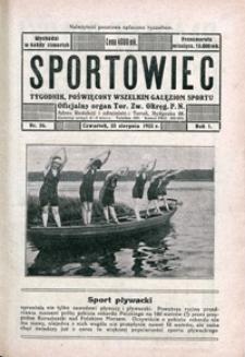 Sportowiec, 1923, nr 26